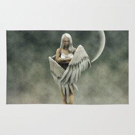 White divine angel Rug
