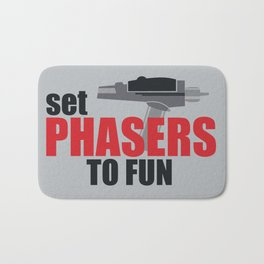 Set Phasers to Fun! Bath Mat