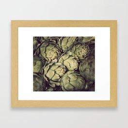 Artichoke Framed Art Print