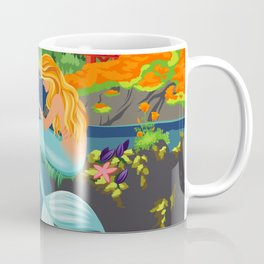 Poster Art ·•· California Mermaid Convention Coffee Mug