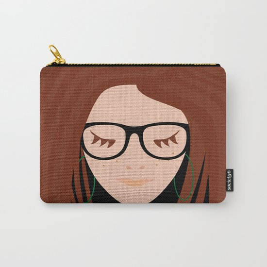Girl 3 Carry-All Pouch
