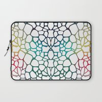 Abstract Net Laptop Sleeve