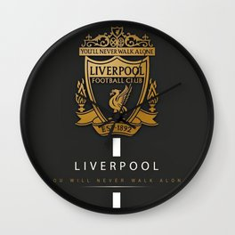 Liverpool FC Wall Clock