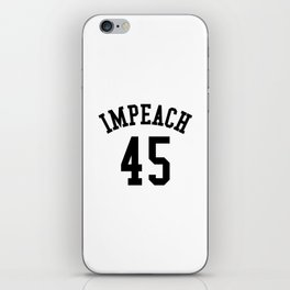 IMPEACH 45 iPhone Skin