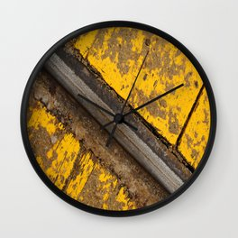 Rail Wall Clock