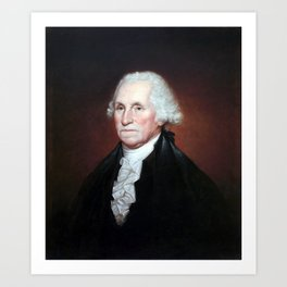 Rembrandt Peale George Washington Art Print
