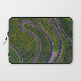 Sinuous road Laptop Sleeve