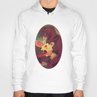 courage Hoodies featuring Courage by James M. Fenner