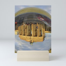 BERLIN Brandenburg Gate sunset, Germany / Glass Ball Photography Mini Art Print