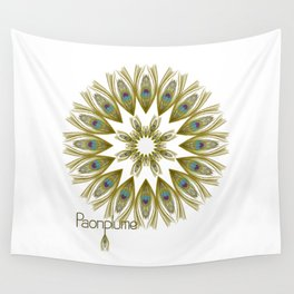 Paonplume Wall Tapestry