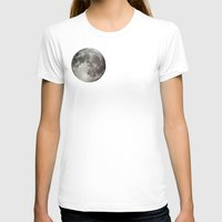 the moon T-shirts featuring Moon by Matt Bokan