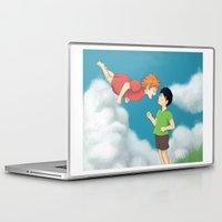 ponyo Laptop & iPad Skins featuring Hinata - Ponyo by betanoiz