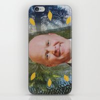 phil jones iPhone & iPod Skins featuring phil by demii whiffin