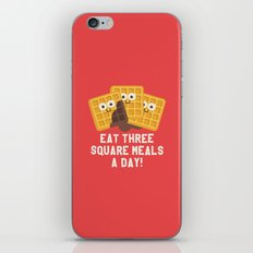 Because You Deserve Batter iPhone & iPod Skin