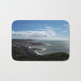 Coastal view Bath Mat