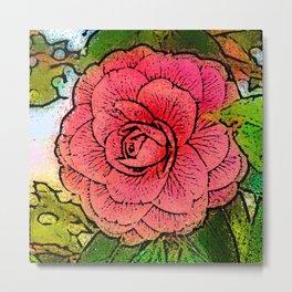 Camellia_2015_0501 Metal Print
