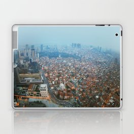Istanbul at night .View from Sapphire skyscraper. Laptop & iPad Skin