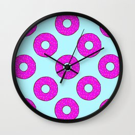 Donut give up Wall Clock