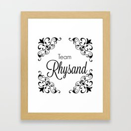 Rhysand Framed Art Print