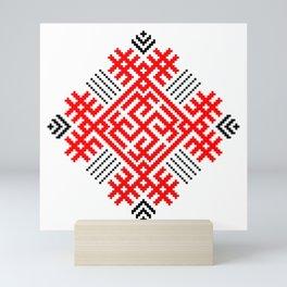 Rodimich - Antlers - Slavic Symbol #1 Mini Art Print