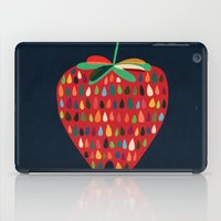 strawberry iPad Cases featuring Strawberry by Picomodi