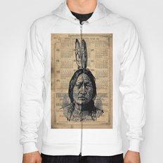 Sitting Bull Native American Chief  Hoody