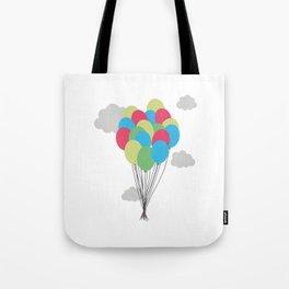 Colorful balloons Tote Bag