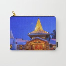 Santa's Home. Carry-All Pouch