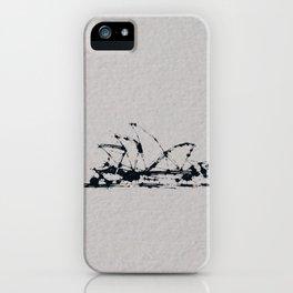 Splaaash Series - Sydney Ink iPhone Case
