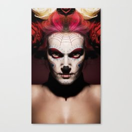ARKANGEL666 VS. DAY OF THE DEAD  Canvas Print