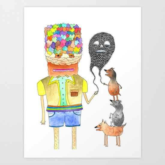 Omens Art Print