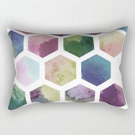 Antique Hexagons Rectangular Pillow