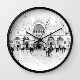 Piazza San Marco, Venice (Italy) Wall Clock