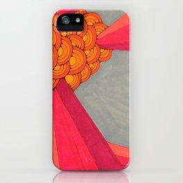 bursts II iPhone Case