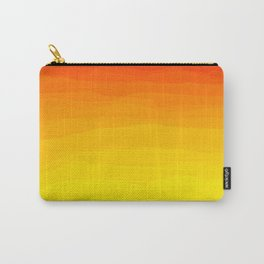 Red to Yellow Sunset Carry-All Pouch