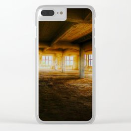 Hall Clear iPhone Case