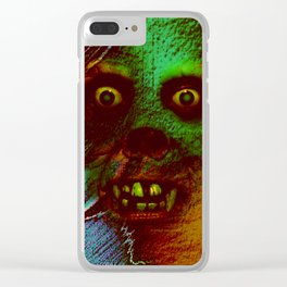 Horrible Dream Clear iPhone Case