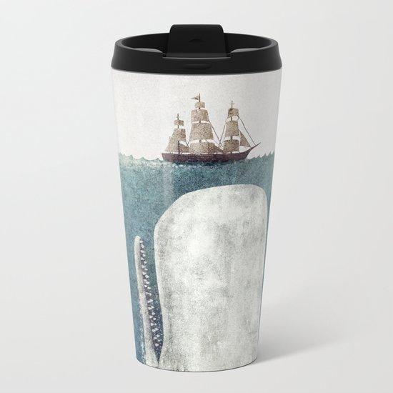 The Whale - vintage  Metal Travel Mug