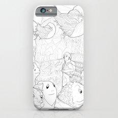 Space Barista Market Slim Case iPhone 6s