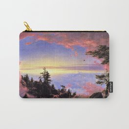 New England - Above the Clouds at Sunrise by Frederic Irwin Church Carry-All Pouch