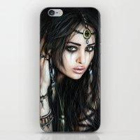 gypsy iPhone & iPod Skins featuring Gypsy by Justin Gedak