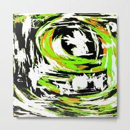 Reverse Experiment Metal Print