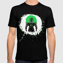 New Broly Dragon Ball Super film T-shirt