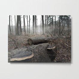Ashen Forest Metal Print