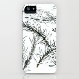 Rosemary iPhone Case