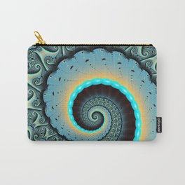 The Mother of All, Abstract Fractal Art Carry-All Pouch