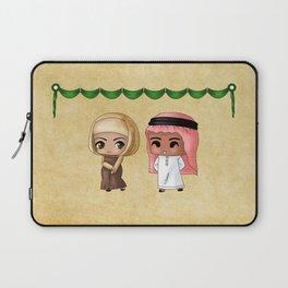 Saudi Arabian Chibis Laptop Sleeve
