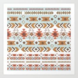 Full Moon Boho Tribal Art Print