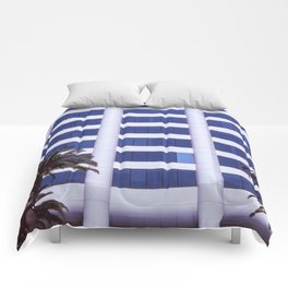 Santa Monica Afternoon II Comforters