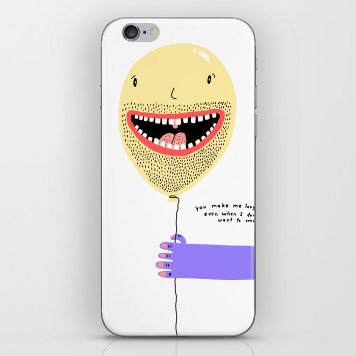 Smiley iPhone Skin